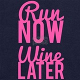 Run now wine later Sweatshirts & Hoodies