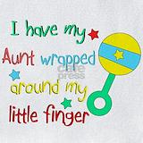 Aunt finger Bib