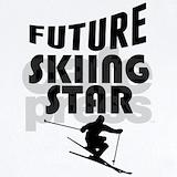Future skiing star Baby Bodysuits