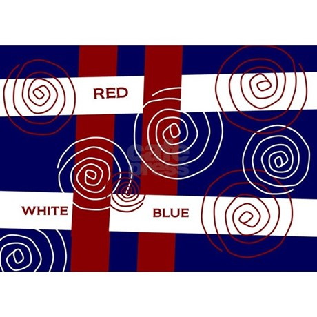 ... red white blue metal cold enamel red white blue from robinsnestmidwest