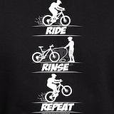 Ride rinse repeat Sweatshirts & Hoodies