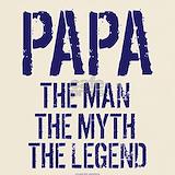 Papa the man the myth the legend T-shirts