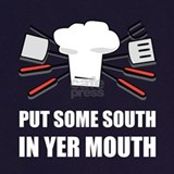 Put some south in your mouth Aprons