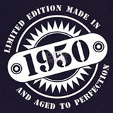 1950 aged to perfection Aprons