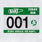 Baby running Bib