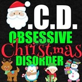 Obsessive christmas disorder T-shirts