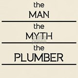 The myth%2c the man the plumber T-shirts