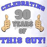 90th birthday men Polos
