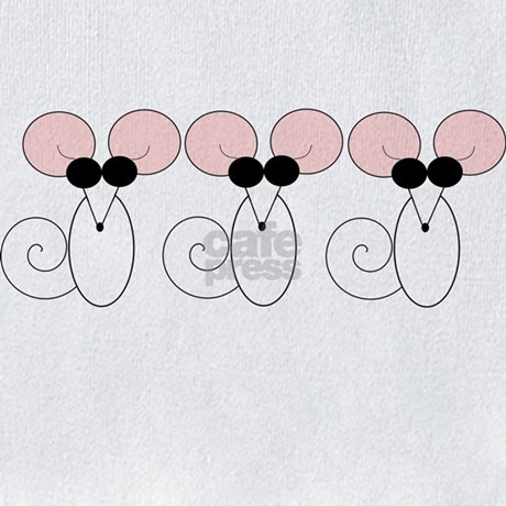three blind mice coloring page - three blind mice bib by cutebutcool