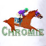 Horse racing chrome Polos