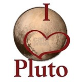 Astronomy i love pluto Aprons