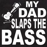 Dad bass Baby Bodysuits