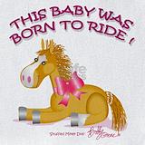 Baby horse Bib