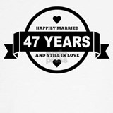 47th wedding anniversary Sweatshirts & Hoodies