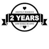 2nd wedding anniversary Pajamas & Loungewear