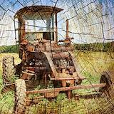 Antique tractor Polos