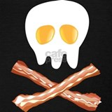 Bacon and eggs skull Tank Tops