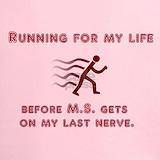 Ms awareness Performance Dry T-Shirts