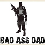 Bad ass dad T-shirts