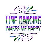 Line dance Wall Decals