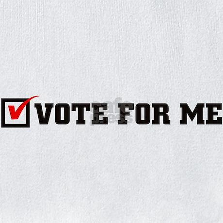 VOTE FOR ME - Black logo Bib by getbud  VOTE FOR ME - B...