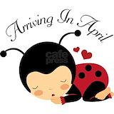 April due date ladybug Maternity