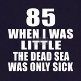 85th birthday Aprons
