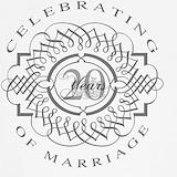 20th wedding anniversary Tank Tops