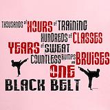 Tae kwon do black belt Performance Dry T-Shirts