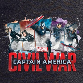 Captain America Civil War T-shirts