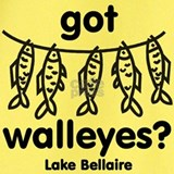 Lake bellaire T-shirts