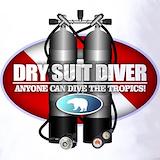 Dry suit diver Polos