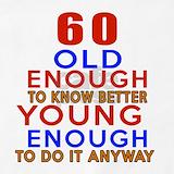 60th birthday Aprons