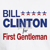 Bill clinton first gentleman T-shirts