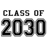 Class of 2030 T-shirts