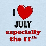 Birthday july 11 Tank Tops