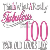100th birthday Aprons