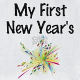 Babys first new years Bib
