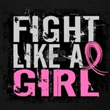 Fight like a girl breast cancer Tank Tops