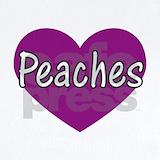 Peaches girl Baby Bodysuits