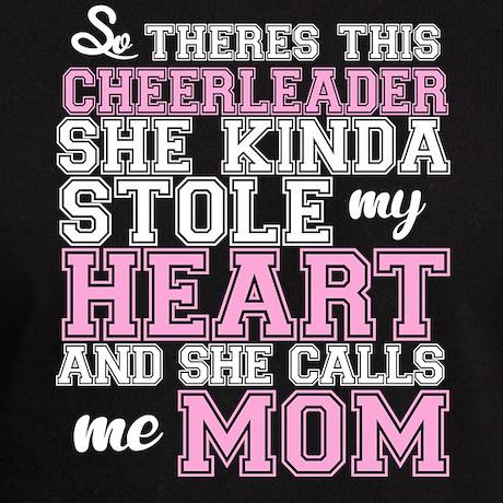 Cheerleader Stole My Heart Mom