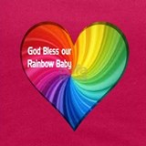 Rainbow baby Tank Tops