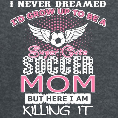 Super Cute Soccer Mom