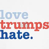 Love trumps hate Tank Tops