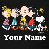 Snoopy and woodstock Tank Tops