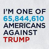 Against trump Bib