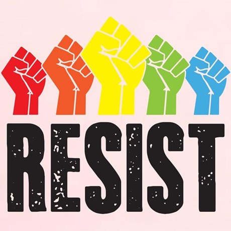 Resist Raised Fists