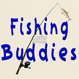 Fishing buddies T-shirts