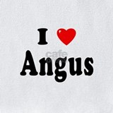 Angus baby clothes Bib