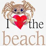 Crab i love the beach Underwear & Panties